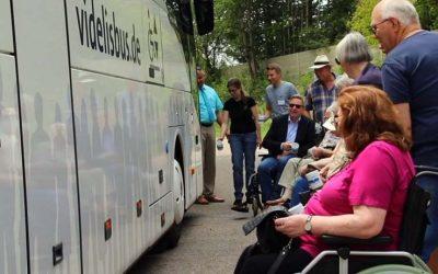 Mit videlis Seniorenreisen e.V.  auch mit Rollstuhl im Urlaub mobil