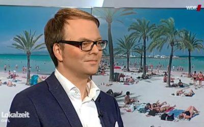 Interview mit RUNA REISEN Geschäftsführer Karl B. Bock in der WDR Lokalzeit
